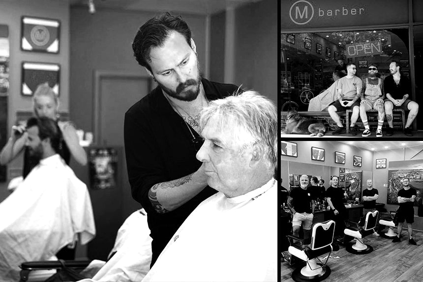 M Barber Manly