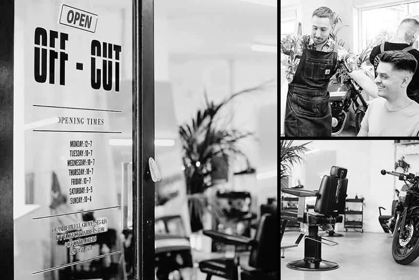 Uppercut Deluxe Barbers of the Month - Off Cut Barbers