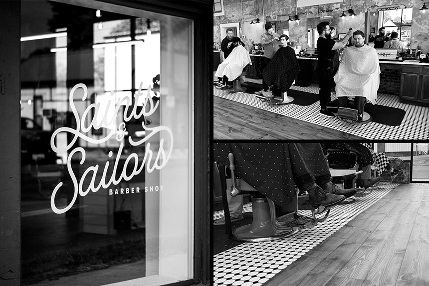 Saints and Sailors Barbershop