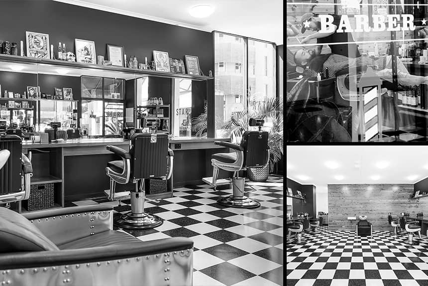 Uppercut Deluxe Barbers of the Month: Star Barber