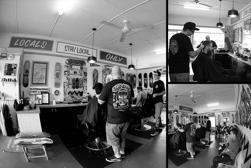 Uppercut Deluxe Barbers of the Month - Stay Local Barbershop