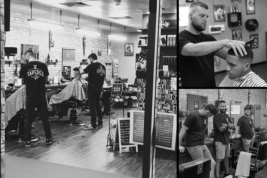 Uppercut Deluxe Barbers of the Month - Tapered the Barbershop