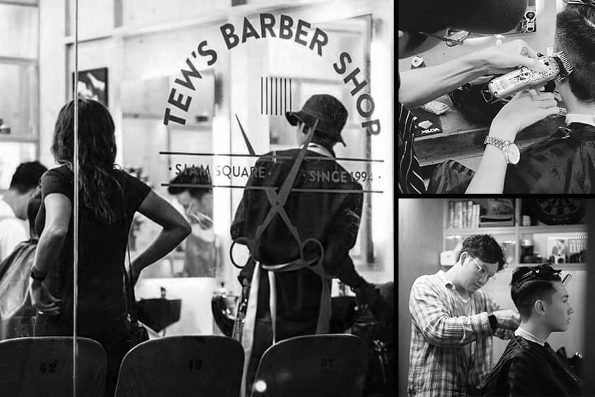 Uppercut Deluxe Barbers of the Month - Tews Barbershop