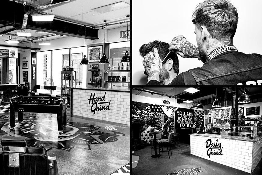 Barbers of the Month - Hard Grind