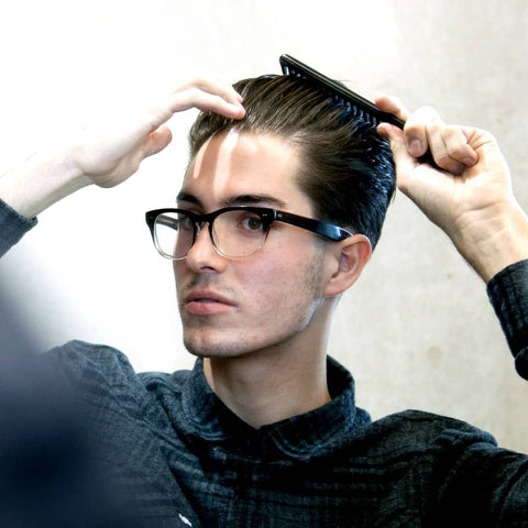How to Style High Textured Pomp – Step 7