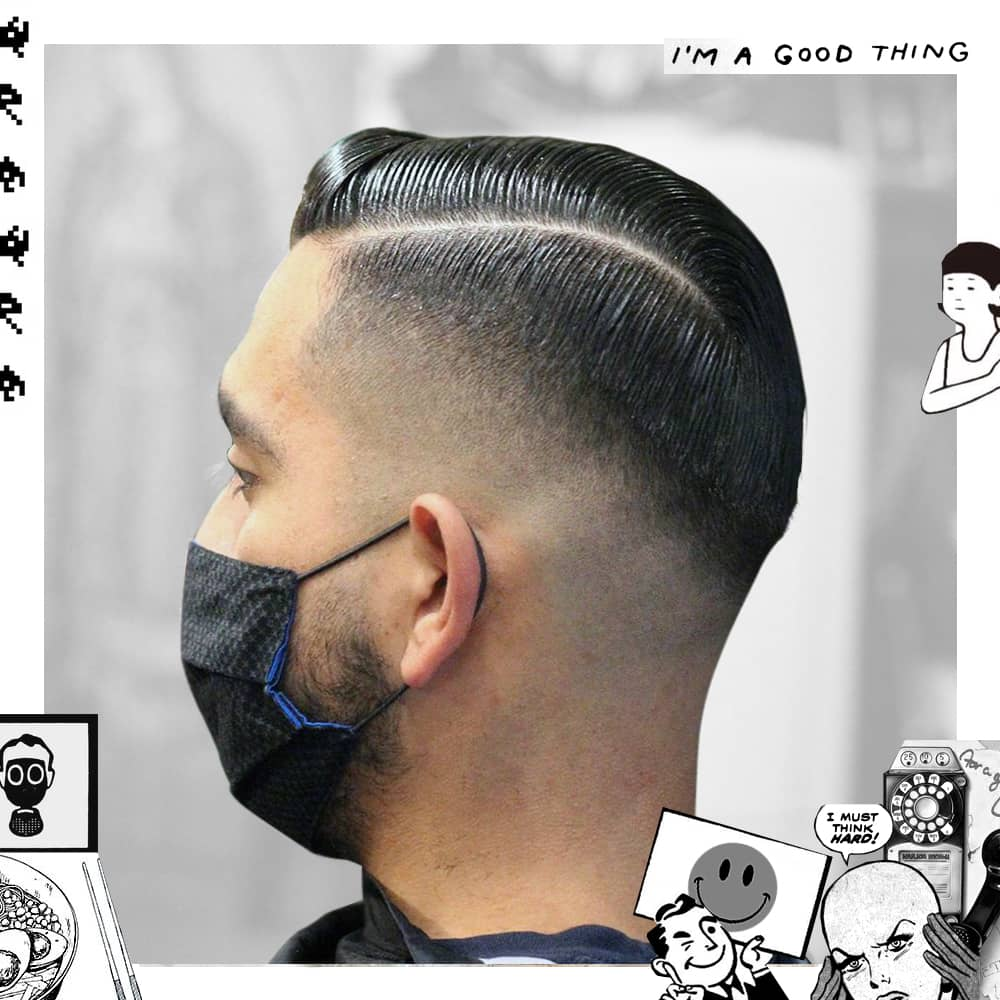 Bald Fade Side Part | Uppercut Deluxe
