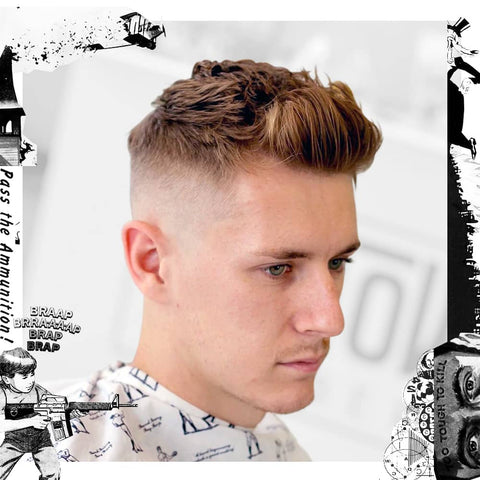 Skin Faded Textured Quiff - Uppercut Deluxe