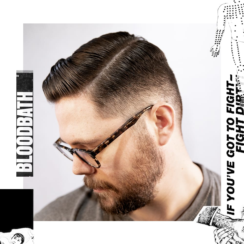 Traditional Side Part or Comb Over - Uppercut Deluxe