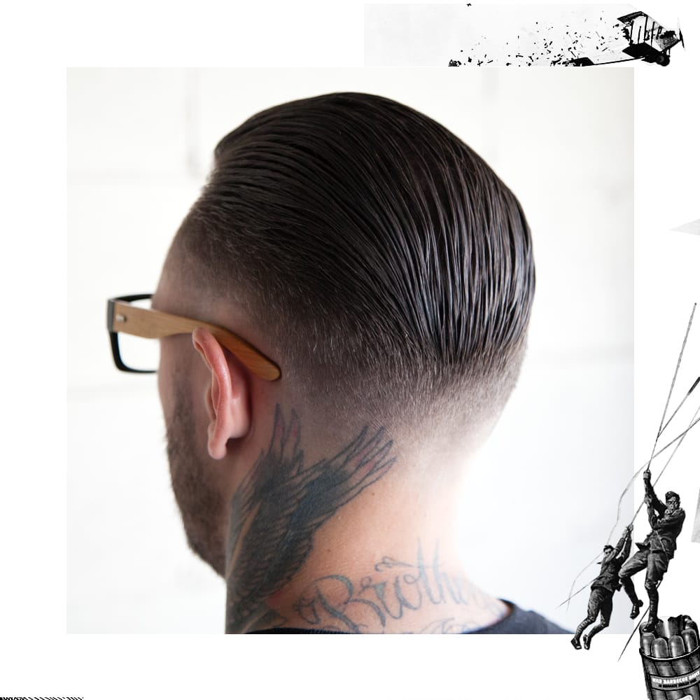Uppercut Deluxe Skin Fade Slick Back