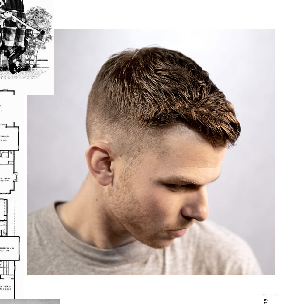 Uppercut Deluxe - Short Textured Quiff