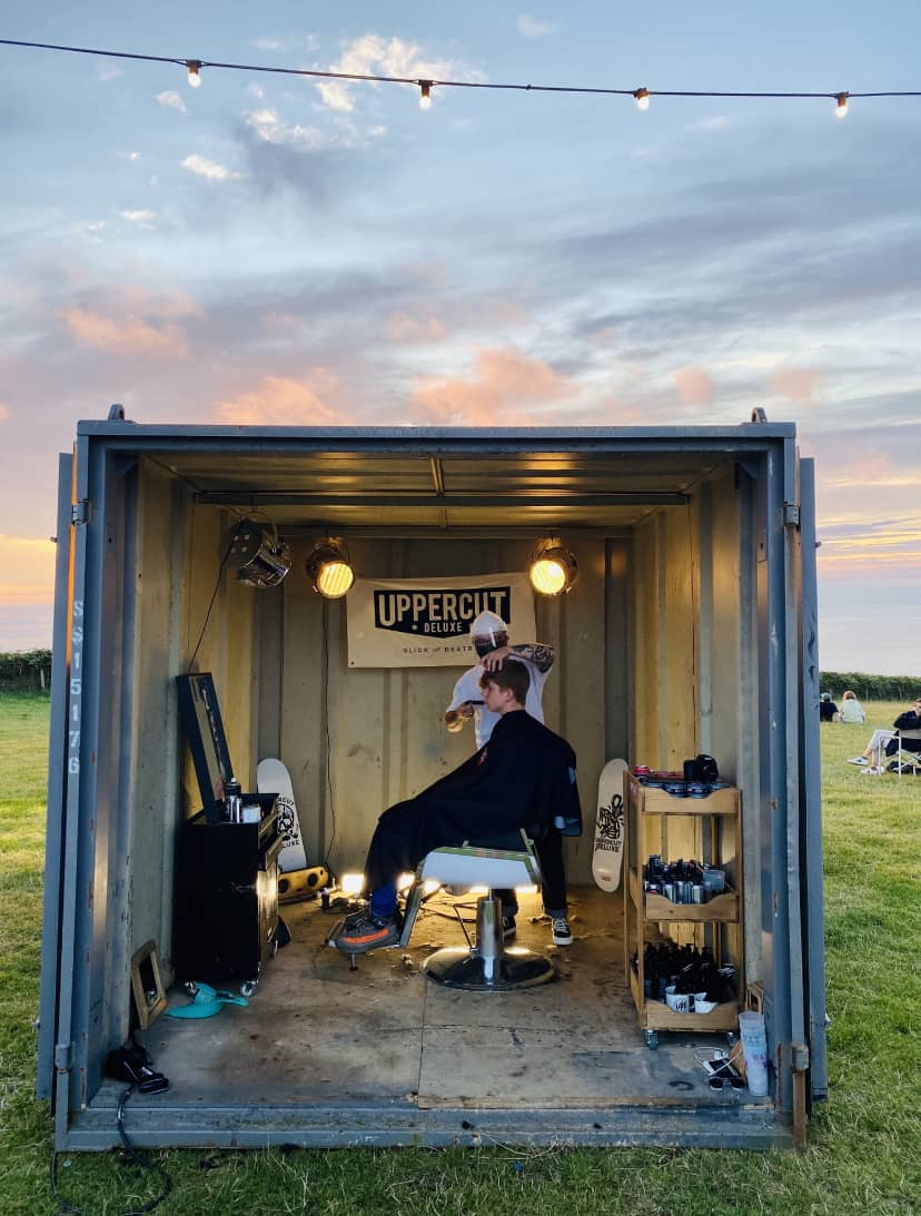 Wavelength Magazine Pop Up Barber Shop Drive in Cinema