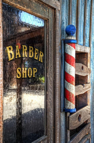 A more traditional Barber Pole