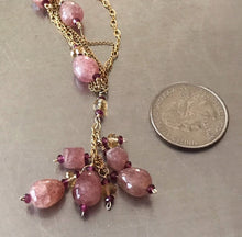 Load image into Gallery viewer, Ruby Quartz Necklace