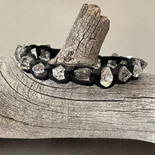Load image into Gallery viewer, Herkimer Diamonds Deerskin Leather Bracelet