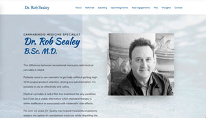 Professional website for a medical consultant