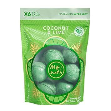 Me Bath  COCONUT & LIME 6 PCS 283.5 G-ME1111