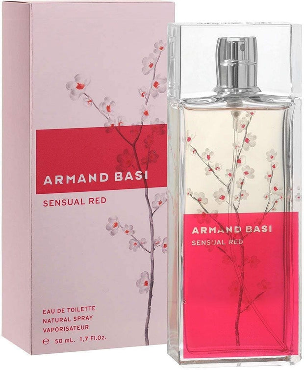 ARMAND BASI SENSUAL RED EDT 50ML - Jashanmal Home