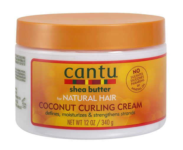 CANTU NATURAL COCONUT CURLING CREAM 340g0700312/3EU - Jashanmal Home