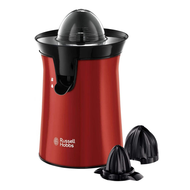 RUSSELL HOBBS COLOUR PLUS+ FLAME RED CITRUS PRESS - 26010-56