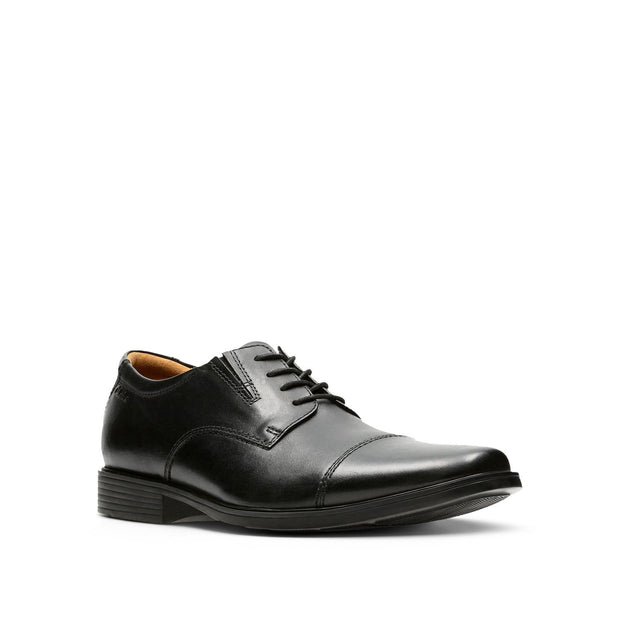 Clarks-Tilden-Cap-Men's-Shoes-Black-Leather-26110309
