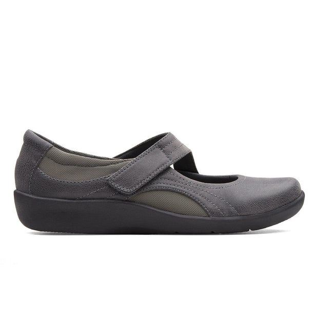 Clarks Sillian Bella Mary Jane - Grey - 26121460
