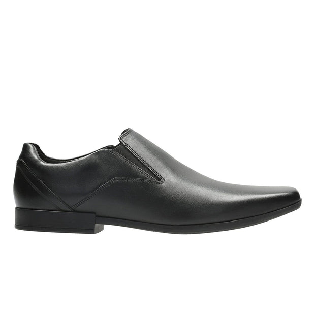 Clarks Glement Slip Shoe - Black - 26127188