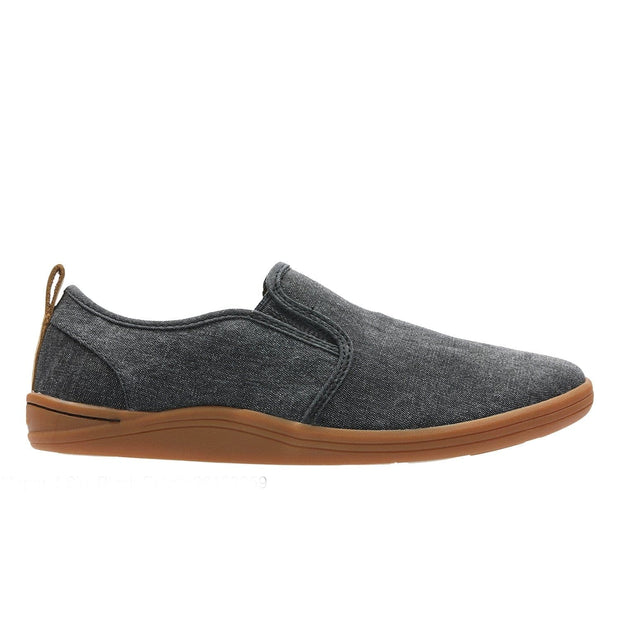 Clarks Mapped Slip Shoe - Black - 26132259