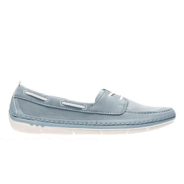 Clarks Step Maro Sand Slip On Shoe - Blue - 26132656