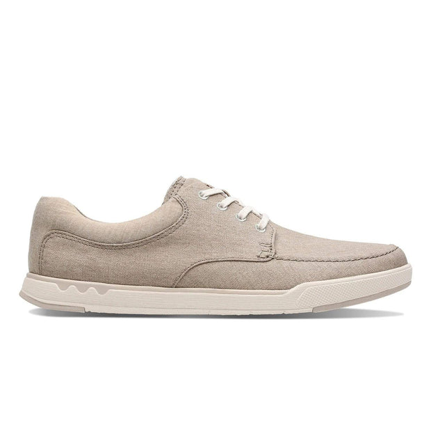Clarks Step Isle Lace Casual Shoe - Sand - 26132771