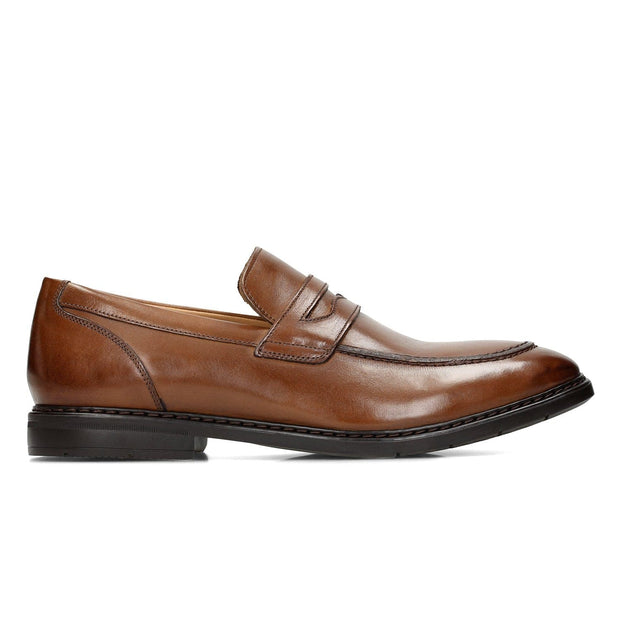 Clarks Banbury Step Formal Shoe - British Tan - 26133863