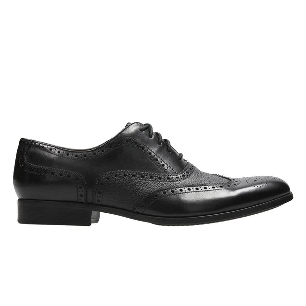 Clarks Gilmore Limit Brogues Shoe - Black - 26133902