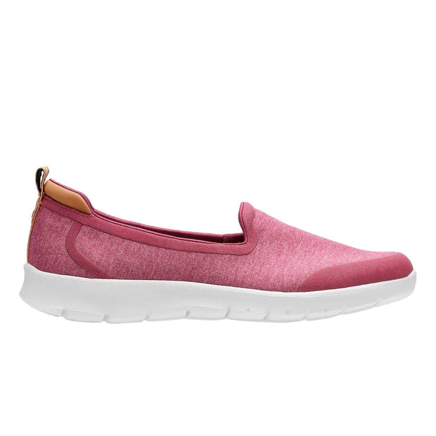 Clarks Step Allena Lo Slip On Shoe - Pink - 26134007