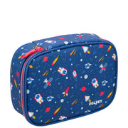 DELSEY SCHOOL 2018 LARGE PENCIL BOX NAVY 00339317502 NAVY