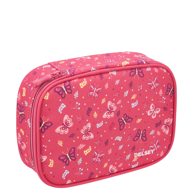 DELSEY SCHOOL 2018 LARGE PENCIL BOX PAEONY 00339317509 PAEONY