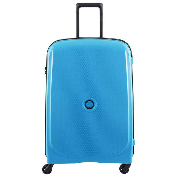 Delsey Belmont 4 Wheel Trolley Case 70cm - Metallic Blue - 00384082022 METALLIC BLUE