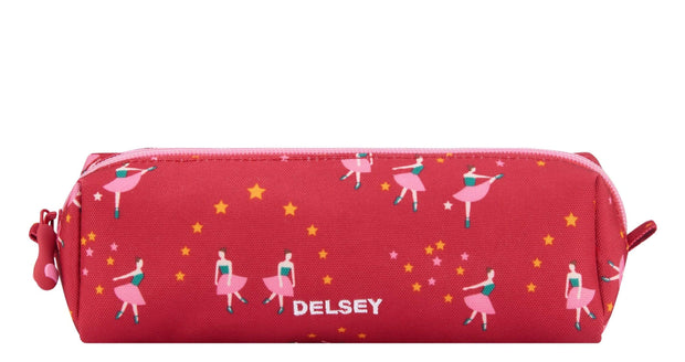DELSEY SCHOOL 2019 PENCIL CASE BALLERINA PINK 00339317119 PINK