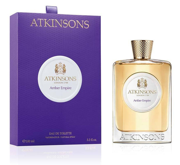 Atkinsons AMBER EMPIRE EDT 100ML - Jashanmal Home