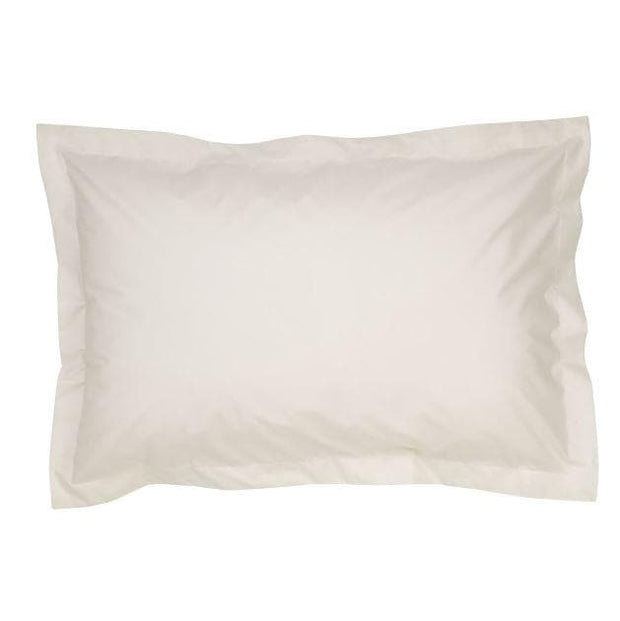 Christy 400 TC PD Sateen Oxford Pillow Case Pair White-10990074