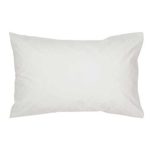 Christy 400 TC PD Sateen Standard Pillow Case Pair White-10990111
