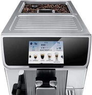 De'Longhi PrimaDonna Elite Fully Automatic Coffee Machine Silver ECAM 650.85.MS - Jashanmal Home