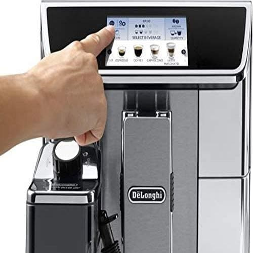 De'Longhi PrimaDonna Elite  ECAM 650.85.MS  Fully Automatic Coffee Machine Silver