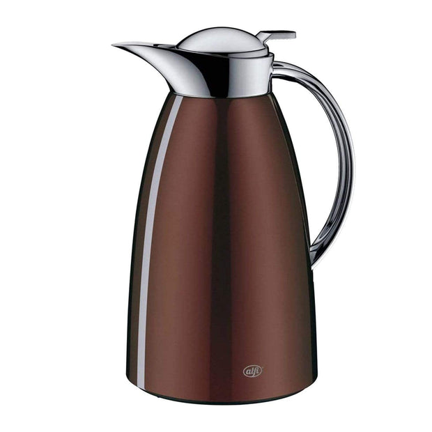 4 Homes Alfi Vacuum Gusto Arabic Design Chrome Flask - Hot Chocolate, 1L - AI-3528-274-100 - Jashanmal Home