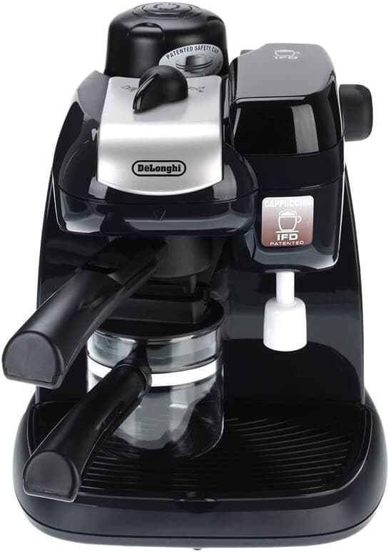 De'Longhi Steam Coffee Maker Black EC9 - Jashanmal Home