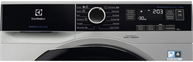 Electrolux 9Kg Tumble Dryer, Silver - EW8H1968IS (Made In POLAND)