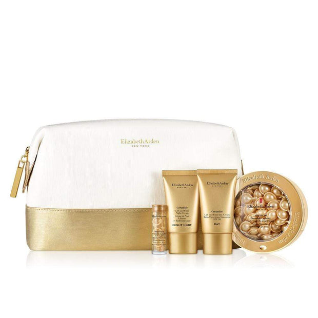 ELIZABETH ARDEN CERAMIDE 4PC CAPS SET IN BAG-A0116969