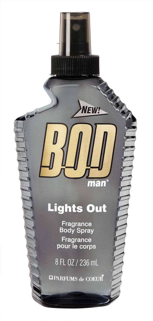 BODY FANTASIES BODMAN LIGHTS OUT BODY SPRAY 236ML-5531