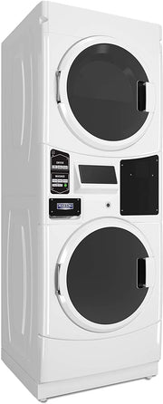 Maytag 10.5KG Front Load Stack Laundry, White - MLE22PNAGW (Made In USA)