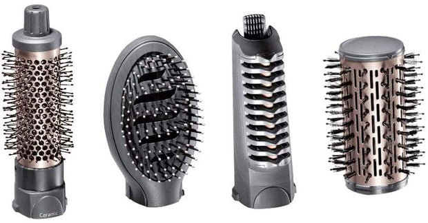 BaByliss Ceramic Rotating Ionic Air Brush 1000 Watts with Paddle Brush - Jashanmal Home