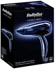 BaByliss Hair Dryer Compact 2100 W - D210SDE - Jashanmal Home