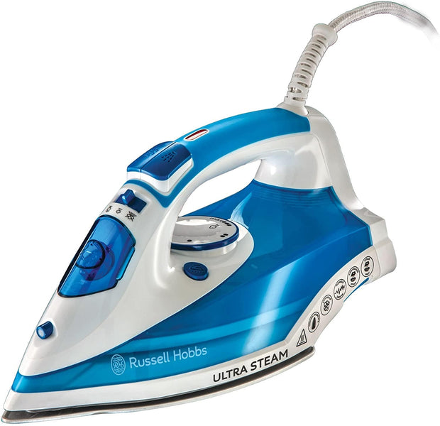 Russell Hobbs Ultra Steam Pro Blue 2600W-23980GCC - Jashanmal Home